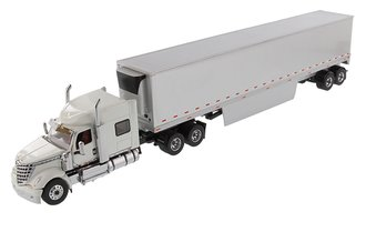 1:50 International LoneStar Sleeper w/53' Refrigerated Van (Silver)