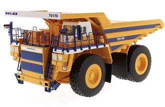 BELAZ Mining Dump Truck (Yellow/Blue)