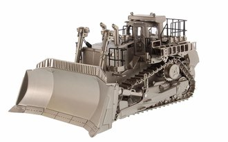 1:50 Caterpillar D11T Track Type Tractor (Matt Silver Plated)