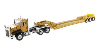 1:50 Caterpillar CT660 On-Highway Truck w/XL Lowboy Trailer - Core Classics Series