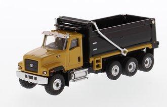 1:87 Caterpillar CT681 Dump Truck (Yellow w/Black Dump)