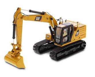 1:50 CAT 323 Hydraulic Excavator w/4 New Work Tools - Next Generation