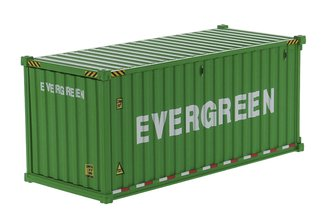 "1:50 20' Dry Goods Sea Container (1) ""EverGreen"" (Green)"