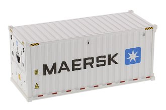 "1:50 20' Refrigerated Sea Container (1) ""Maersk"" (White)"