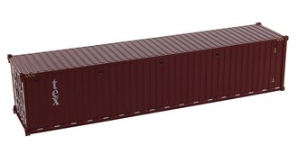 1:50 40' Dry Goods Sea Container (1) (TEX Color) (No Forwarder Printed)
