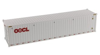 "1:50 40' Dry Goods Sea Container (1) ""OOCL"" (White)"