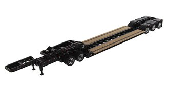 1:50 XL 120 Low-Profile HDG Lowboy Trailer (Outrigger Style) w/2 Boosters & Jeep