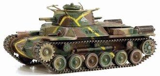 "IJA Type 97 ""Chi-Ha"" Early Production, Co.4, 34th Tank Regiment, North China 1945"