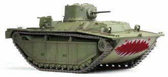 LVT-(A)1, Pacific Theater Operation 1945