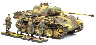 Panther G w/Zimmerit + Wehrmacht Infantry