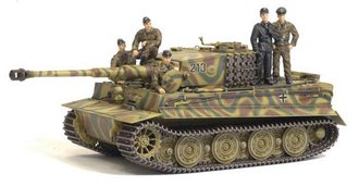 Tiger I Late Production w/Tiger Tank Crew