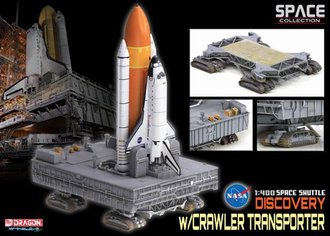 "Space Shuttle, NASA, OV-103 ""Discovery"" Launch Configuration w/Crawler"