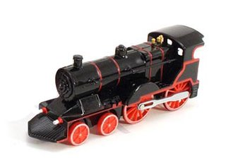 "1:72 Classic Train w/Lights & Sounds (6"") (Black)"