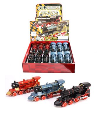 "1:72 Box of 12 - Classic Train w/Lights & Sounds (6"")"