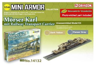 Morser Karl Railway Transport Carrier