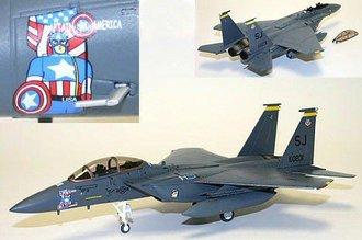 "F-15E Strike Eagle ""Capt. America"""