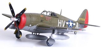 "P-47D-11-Re ""Hv-A"", 61st Fs, 56th Fg ""Francis S. 'Gabby' Gabreski"""