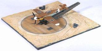 Messerschmitt Bf 109G w/Compass Platform Display Base