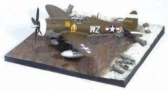 P-47D 84FS 78FG w/Airfield Base