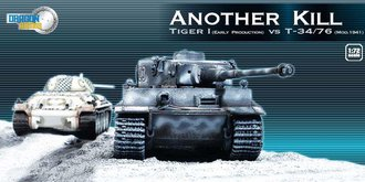"Tiger I & T-34/76 ""Winter Diorama"""