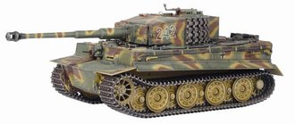1:35 Tiger I Late Production w/Zimmerit 2./s.Pz.Abt.102, Normany 1944