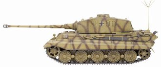 1:35 King Tiger Henschel Turret w/Zimmerit 3/s.Pz.Abt.506 Command Version