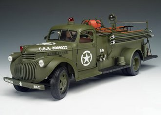 """1941 Chevy Fire Truck """"WWII USAAF"""""""