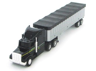 1:64 John Deere Semi w/Grain Trailer