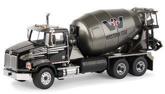 Western Star 4700 Concrete Mixer (Black/Dark Gray Metallic)