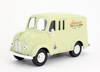 """1:24 1950 Divco Delivery Truck """"Schwan's"""" (Bank)"""