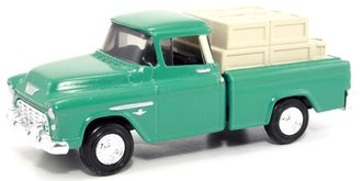 1955 Chevy Cameo Pickup w/Load (Bank)