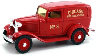 "1932 Ford Panel Fire Van ""Chicago Fire Dept."" (Red)"