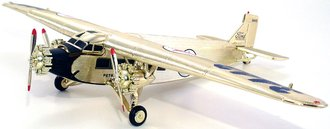 1:72 Wings of Texaco # 7 - 1927 Ford Tri-Motored Monoplane (Gold Plated) (Special Edition)