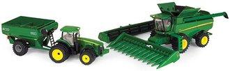 1:64 John Deere Harvesting Set - TBE45443 Combine & 8360R Tractor w/Gravity Wagon