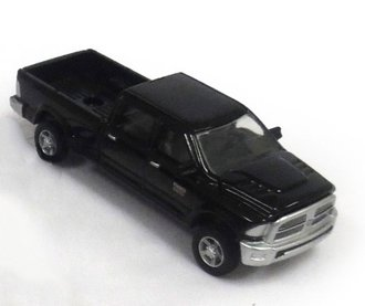 1:64 2012 RAM 2500 Pickup Truck (Black)