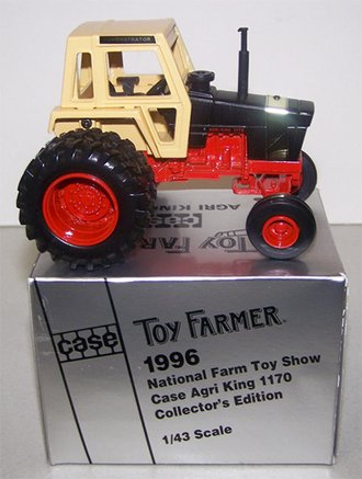 """Case 1170 Agri King Tractor """"1996 National Farm Toy Show"""""""