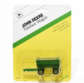 1:64 John Deere Flarebox Wagon (Green)