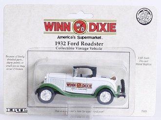 Winn-Dixie 1932 Ford Roadster (White/Green)