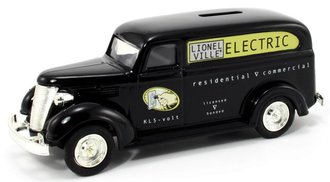 Lionelville Electric 1938 Chevy Panel (Bank)