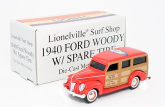 Lionelville Surf Shop 1940 Ford Woody Wagon
