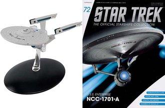Star Trek - U.S.S. Enterprise NCC-1701-A (NCC-1701-A) Captain James T. Kirk