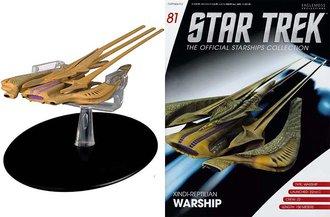 Star Trek - Xindi Reptillian Warship