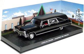 1:43 Diamonds Are Forever 1968 Cadillac Superior Hearse (Black)