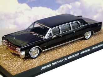1:43 Thunderball Lincoln Continental Stretch Limousine