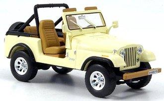 1:40 1982 Jeep CJ-7 Laredo (Beige)