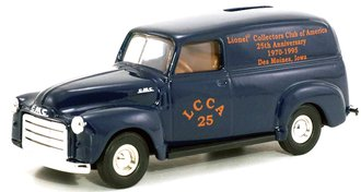 "1951 GMC Panel Truck ""LCCA 25th Anniversary 1970-1995"" (Blue) (Bank)"