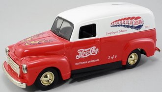 Pepsi-Cola 1995 Hot Rod Series - 1951 GMC Panel Truck w/Gold Trim