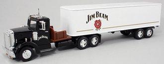 """1948 Peterbilt w/Van Trailer """"Jim Beam"""" (Bank)"""