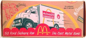 McDonald's 1953 Ford Delivery Van w/Reefer Unit