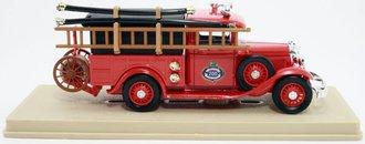 """1934 Ford V8 Covered Pickup """"Trenton Fire Dept."""" (Red)"""